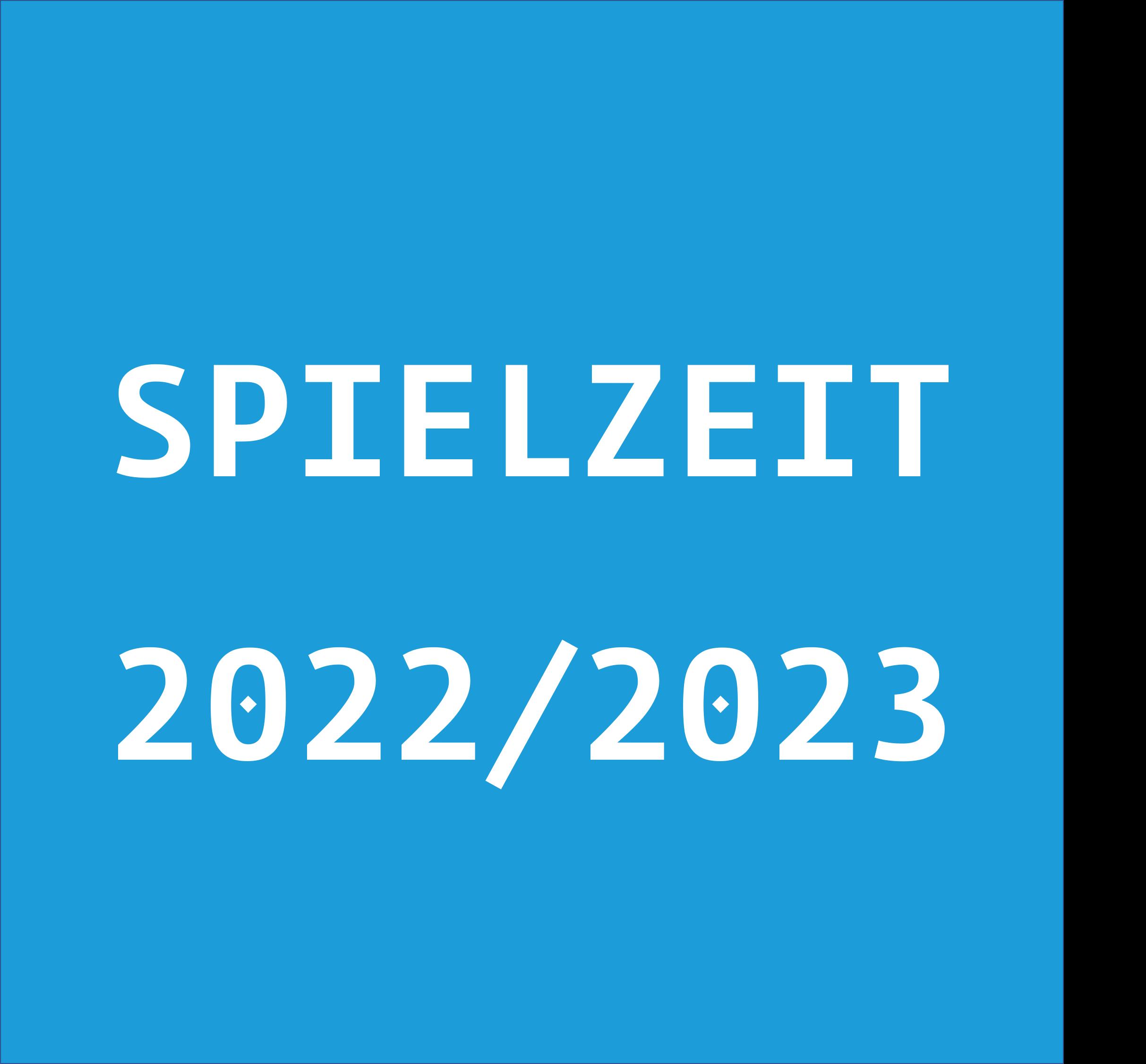 Spielzeit 2022/23